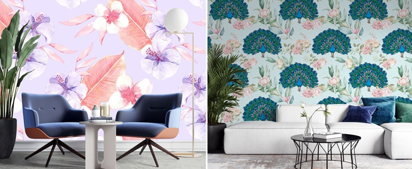 Benefits Of Designing Your Interior Space With Floral Wall Stickers?
