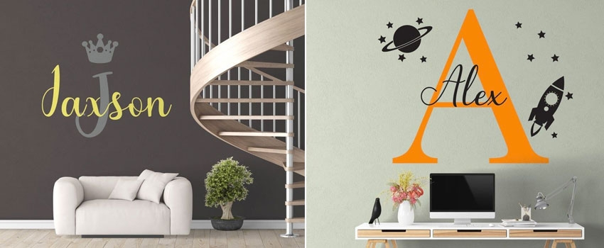 Which Are The Best Places To Buy Custom Wall Decals?