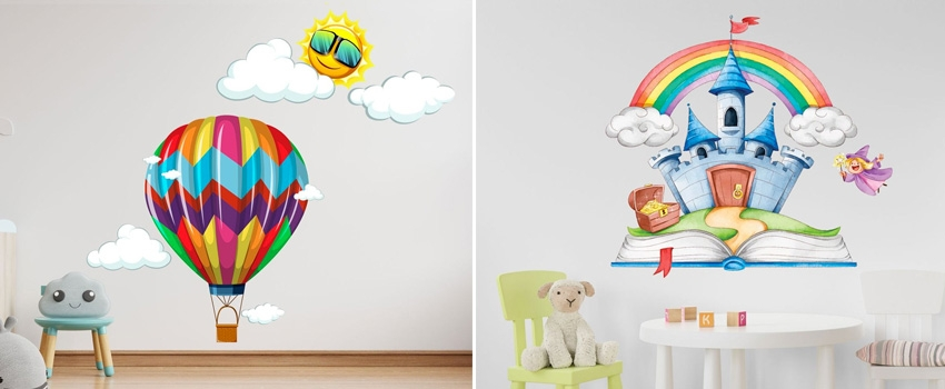 Get Nursery Wall Stickers For Kids Room?