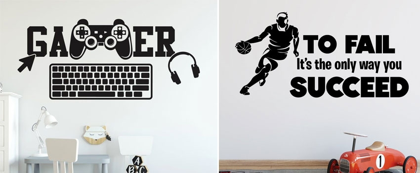 What Are The Perfect Gamer Wall Decals For Kids?
