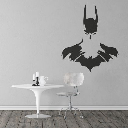 Batman Dark Knight Silhouette Wall Decal