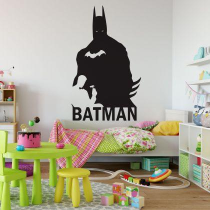 Batman Vinyl Wall Art Sticker for Childrens Themed Room