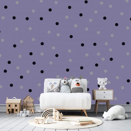 Mixed Colour Giant Polka dot Wall Decals Pattern Vinyl Wall Wall Sticker