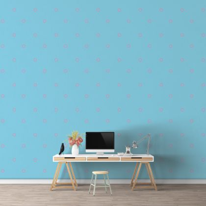 Outlined Polka dot Wall Decals Pattern Vinyl Wall Sticker