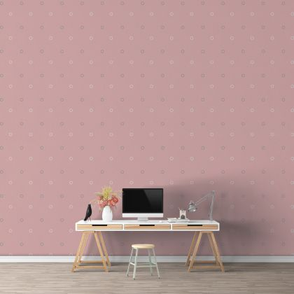Mixed Colour Outlined Polka dot Wall Decals Pattern Vinyl Wall Wall Sticker
