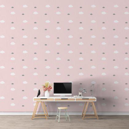 Mixed Size Cloud Wall Decals Pattern Vinyl Wall Wall Art