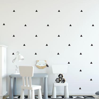 Triangle Wall Decals Pattern Vinyl Wall Wall Sticker