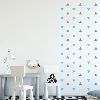 Triangle Wall Decals Pattern Vinyl Wall Wall Art