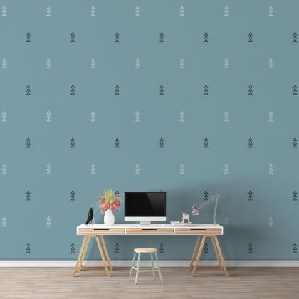 Outlined Triangle Wall Decals Pattern Vinyl Wall Wall Art