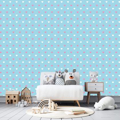 Heart Wall Decals Pattern Vinyl Wall Wall Art