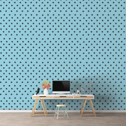 Plus Sign Wall Decals Pattern Vinyl Wall Wall Sticker