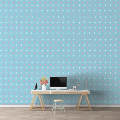 Plus Sign Wall Decals Pattern Vinyl Wall Wall Art