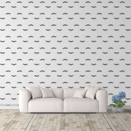 Moustache Wall Decals Pattern Vinyl Wall Wall Sticker