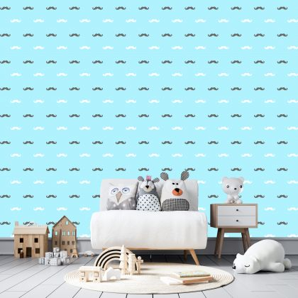 Moustache Wall Decals Pattern Vinyl Wall Wall Art