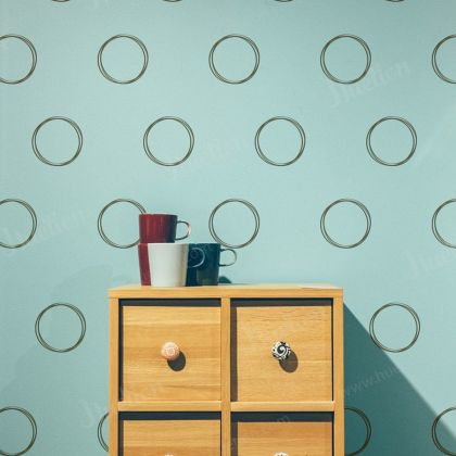 Geometric Wall Decals for Circle Wall Decals
