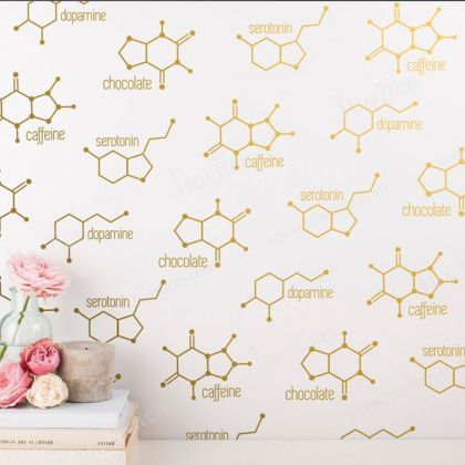 Chemical Structure for Wall Decals