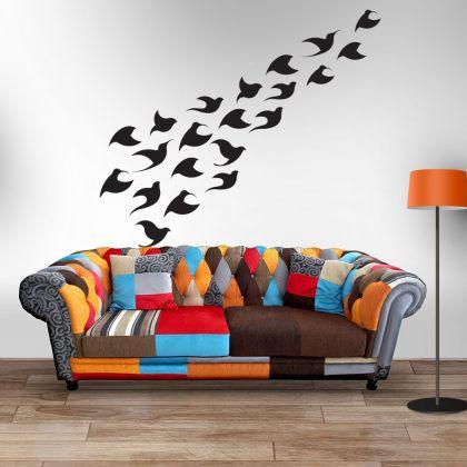 Hotchpotch Birds Vinyl Wall Sticker