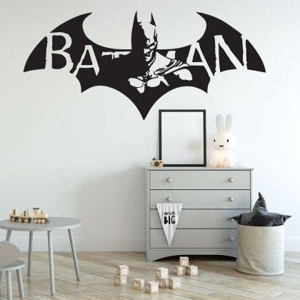 Flying Batman Vinyl Wall Sticker