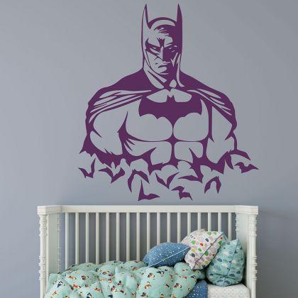 Dark Night King Batman Vinyl Wall Stickers