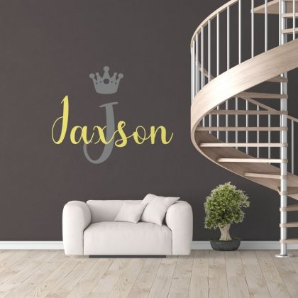 Personalized Girls Name Vinyl Wall Stickers for Children Room wall decal