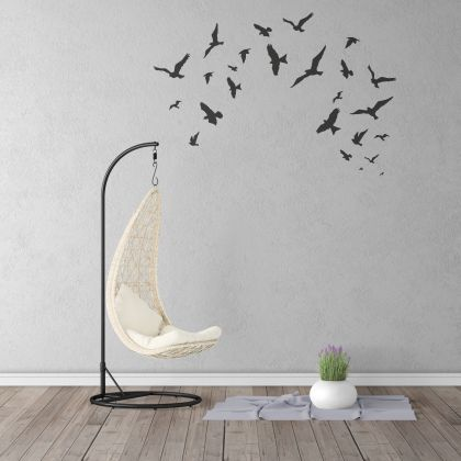 Beautiful Flying Birds Wall Decal in Different Size