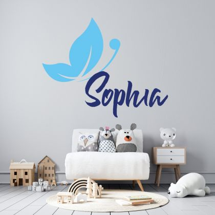 Customized Girls Name Wall Stickers for Children Room