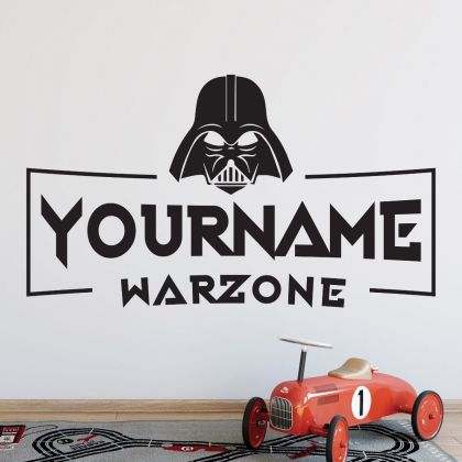 Personalized Name Gaming Room Wall Stickers for Gaming room Wall Decals