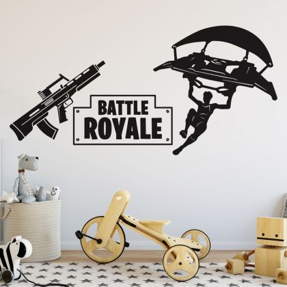 Boys Gaming Room Vinyl Decal Wall Stickers for Gaming Room, Kids Room Wall Art