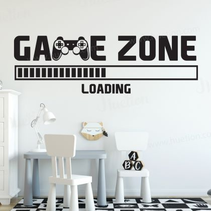 Gamer Zone Gaming wall decals
