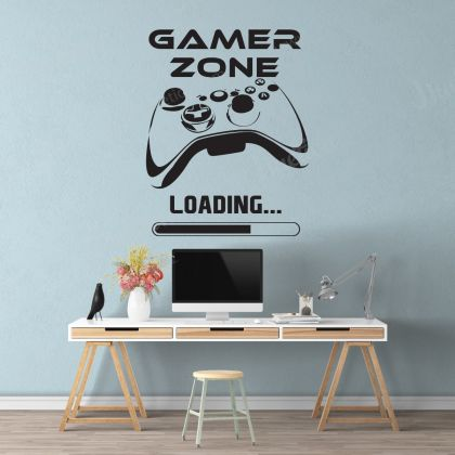 Gamer Zone Wall Stickers for Gamer wall decor