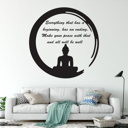 Buddha Wall Decal Buddha for Buddha Wall Sticker