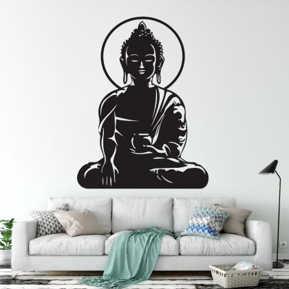 Wall Decal Buddha Wall Art