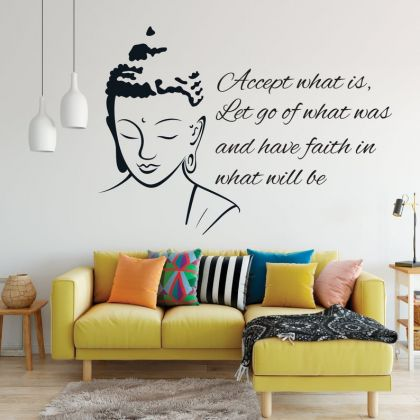 Buddha Wall Art Stickers, Buddha Wall Art Decal