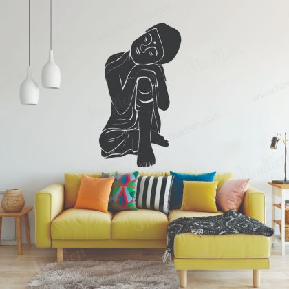 Buddha Wall Decal Buddha Wall Art