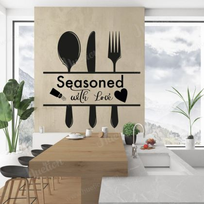 Kitchen Quote Wall Decor for Home kitchen Wall Art Decal