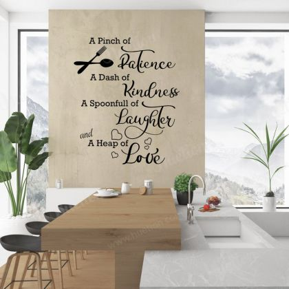 Kitchen Wall Sticker for Kitchen Quote Wall Decal