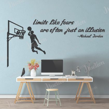 Basketball Wall Stickers Kids Room Home Decor