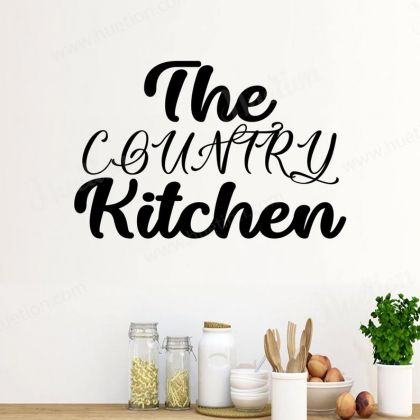 The Country Kitchen Wall Art for Kitchen wall stickers