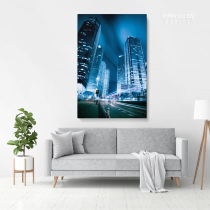 Portrait Canvas Photography Building Background Canvas with Frame/ Roll Living Room Bedroom Wall Hangings Wall Artwork Mural Gift