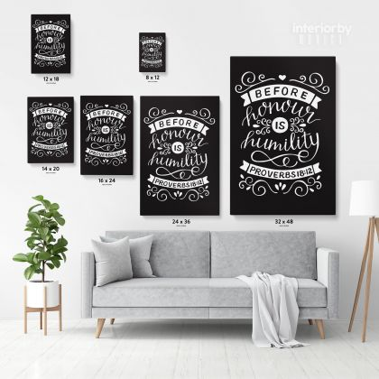 Bible Verse Canvas Office Quotes Home Decor Scripture Wall Art Decals Quote Holy Bible Print Ready to Hang Canvas