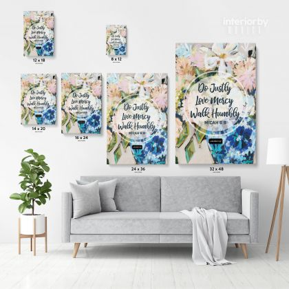 Bible Verse Canvas Office Home Decor Scripture Wall Art Decals Quote Holy Bible Prints Canvas