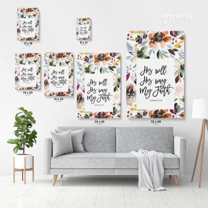 Love God Holy Bible Verse Canvas Office Home Decor Scripture Canvas