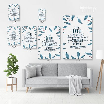 Holy Bible Verse Canvas Office Home Decor Scripture Art Decals Quote Canvas