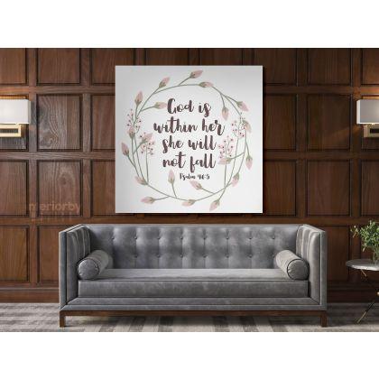 Holy Bible Verse Art Canvas Office Home Decor Canvas