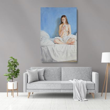 Women's Erotica Painting by Famous Owen Claxton Photo Print Canvas Wall Art Home Decor Hangings Gift
