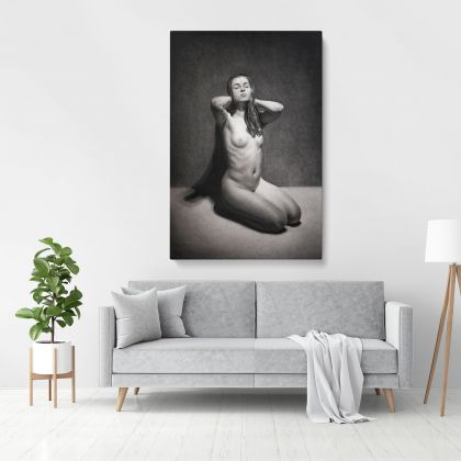 Naked Women Painting by Famous Owen Claxton Photo Print on Canvas Home Decor Wall Mural Gift