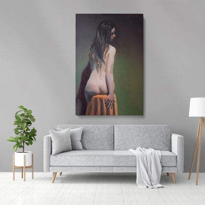 Famous Owen Claxton Naked Women Painting Photo Print on Canvas Wall Mural Hangings Gift
