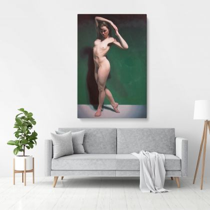 Original Artwork Painting by Famous Owen Claxton Photo Print on Canvas Gift Home Decoration Wall Mural