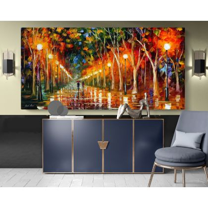 The Path to Victory Palette Knife Oil Painting by Leonid Afremov Canvas Photo Print Home Decor Wall Posters Gift
