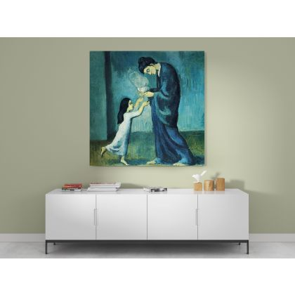 Pablo Picasso: La Soupe Art Famous Modernism Artistic Painting Canvas Photo Print Home Decor Wall Mural